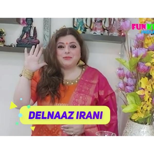 delnaaz irani