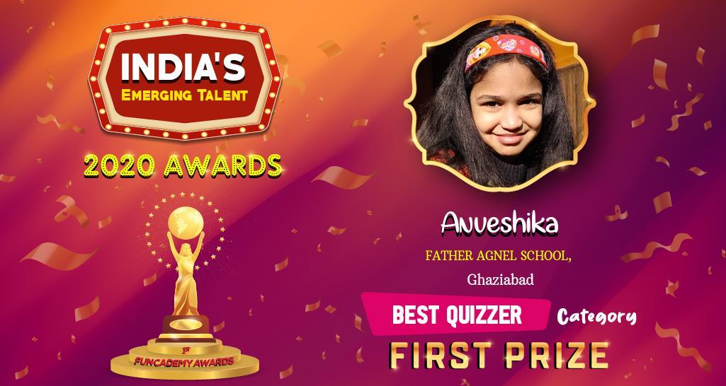 <b>BEST QUIZZER - WINNER</b>
